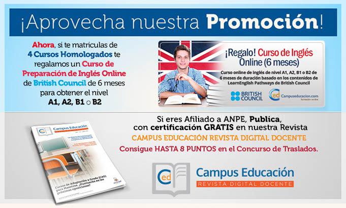 Descuentos y Promociones en Campuseducacion.com