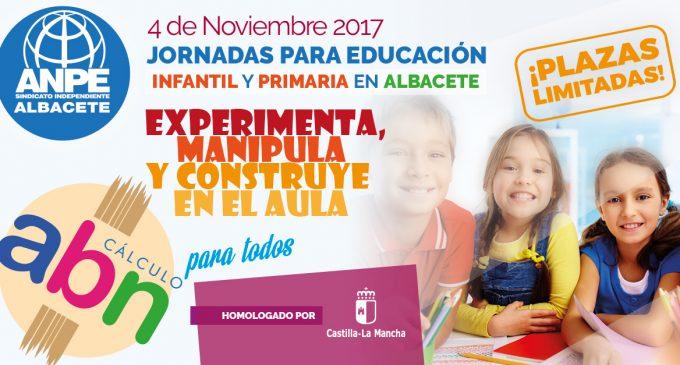 Jornadas para Educación Infantil y Primaria: Cálculo ABN para todos