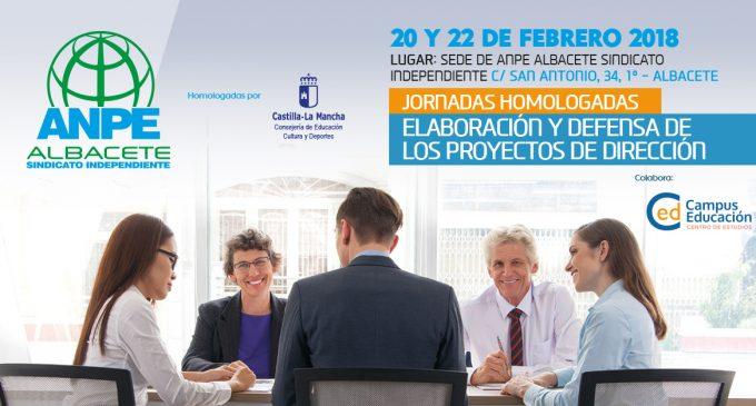 Jornadas Homologadas: Elaboración y Defensa de los Proyectos de Dirección